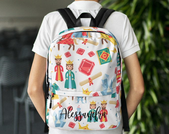 Majestic back to school Custom gift - Personalize backpack - customized backpack - backpack with name - custom school bag - unique backpack