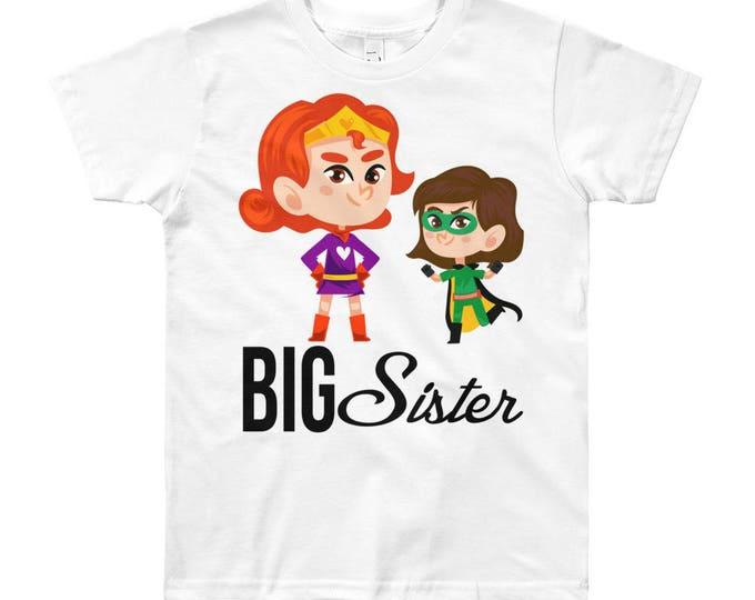 SALE Superhero Big Sister Design T-Shirt