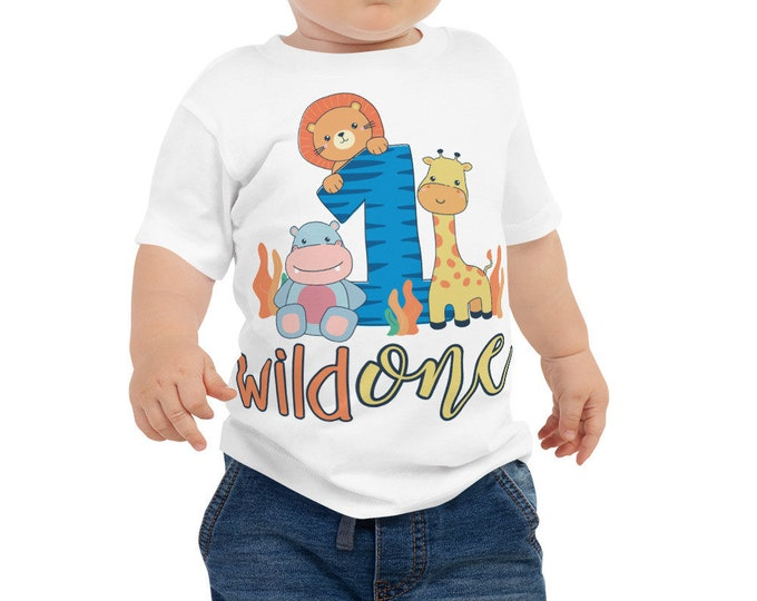 Wild one birthday shirt 1st birthday outfit - first birthday shirt - birthday outfit - wild one party - wild one shirt