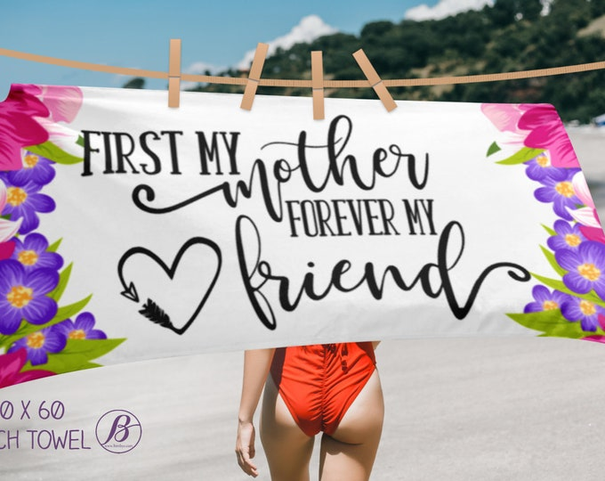 First My Mother Forever My Friend Gift for Mom | Gift for Mom from daughter | Gift for Mom to Be | Birthday Gift for Mom | Gift for Moms