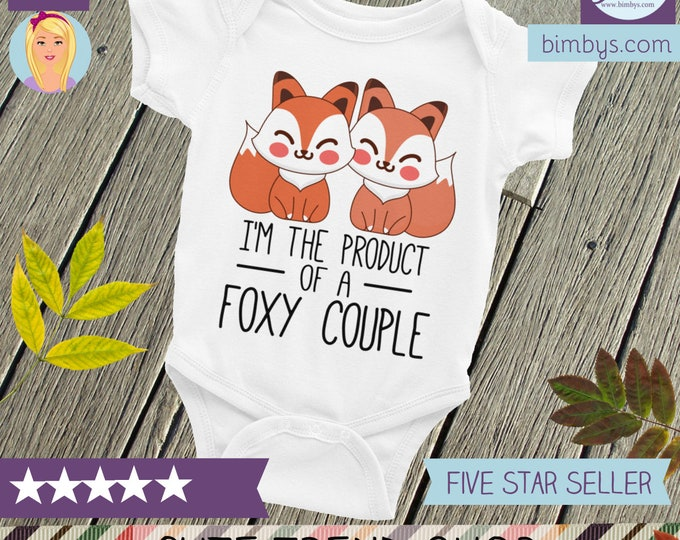 Cute baby shirt ,fox Bodysuit  cute clothes , infant shirts, baby bodysuit, baby shower gift, baby clothes, baby shower, baby boy, baby girl