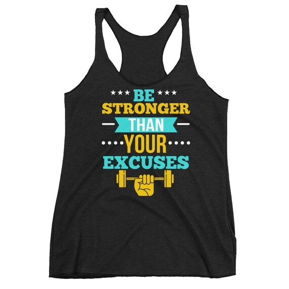 Motivation Workout Tank Top | Fitness Women's Racerback Tank | Gym Tank Tops | Work out shirt | Workout Clothes | Womens Workout Tank