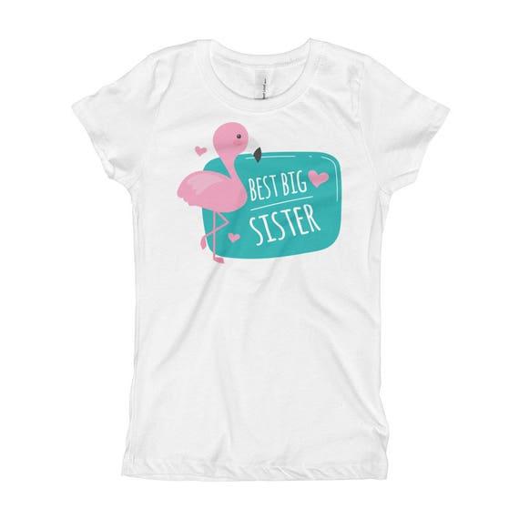 ON SALE Best Bis Sister Girl's T-Shirt, Big Sister Shirt, Big Sister Announcement, Big Sister t-shirt, Kids clothing, Big Sister T-shirt