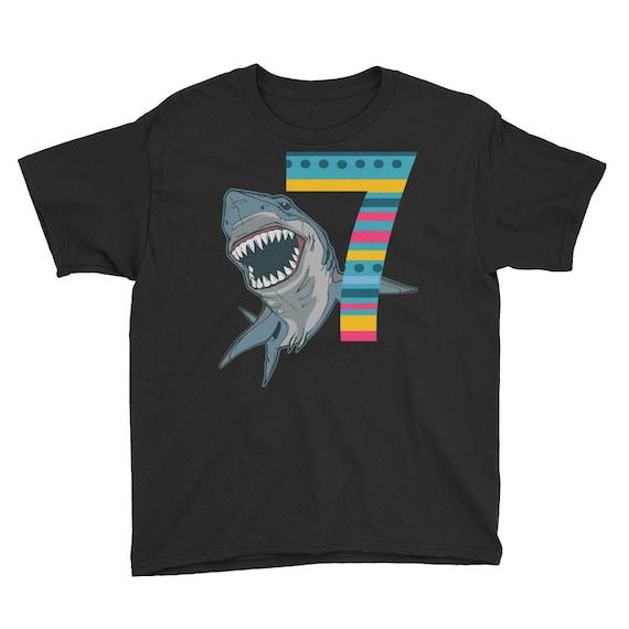 7th Birthday Shirt, Seventh BirthdayT-Shirt, Boys Seventh Birthday Shirt-Birthday Boys Shirt, Happy 7th birthday T-Shirt - birthday shirt -
