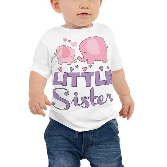 Little sister outfit, Baby Girl Baby Jersey Short Sleeve Tee, Coming Home Outfit, Little Sister Shirt, Baby girl, Newborn Girl, Going Home