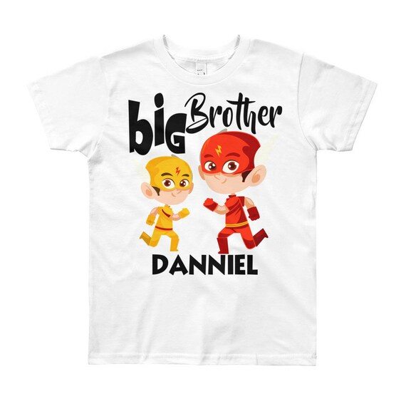 Custom Big Brother T-Shirt, big brother shirt, custom big brother, big brother shirt, big brother gift, custom brother shirt, brother tee