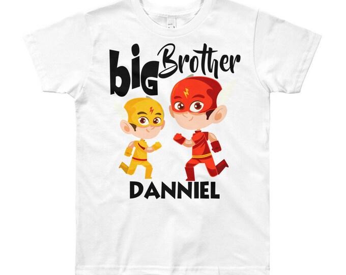 Custom Big Brother T-Shirt, big brother shirt, custom big brother, big brother shirt, big brother gift, custom brother shirt, brother tee