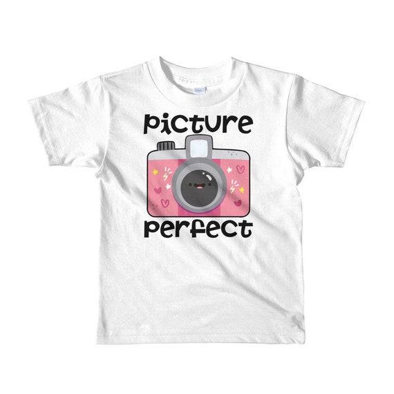 SALECamera kids t-shirt - Picture perfect shirt - camera shirt - camera t shirt - camera tshirt - camera t-shirt - kids camera shirt