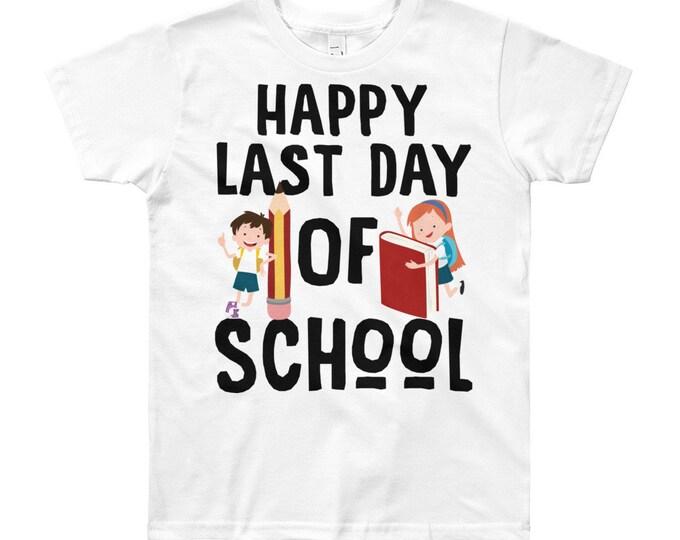 Last day of School Kids T-Shirt, Happy Last Day of School, School Photo Prop, preschool shirt, kindergarten shirt, kids school shirt, unisex