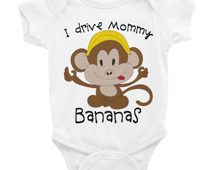 Funny Nappy, Cute Animals Nappy,  Monkey Onsie, Funny Baby Onsies, Monkey Shirt, Little Monkey Onsie, Cute Baby Bodysuit, Cute Onsie