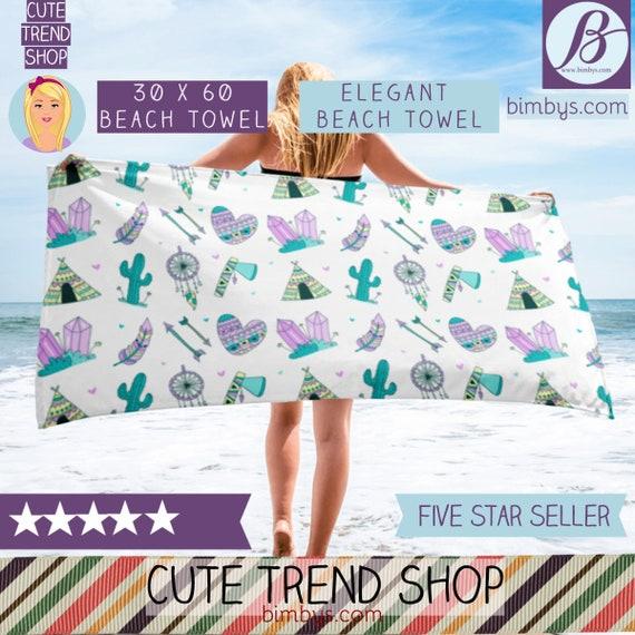 ON SALEElgant Boho Beach Towel - beach towel - beach towels - beach accessories - beach blanket - beach house decor - beach bachelorette