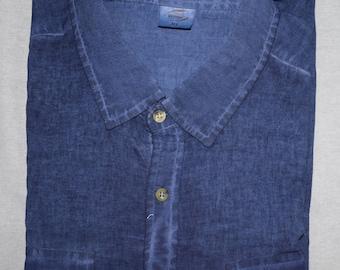 Mens Short Sleeve Shirt 100% Cotton