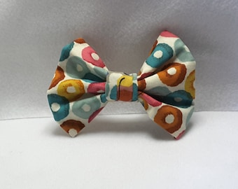 kelloggs Frooty hair bows, hair accesories, fabric hair bows