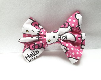 hello kitty hair bows, hair clips, hair accesories