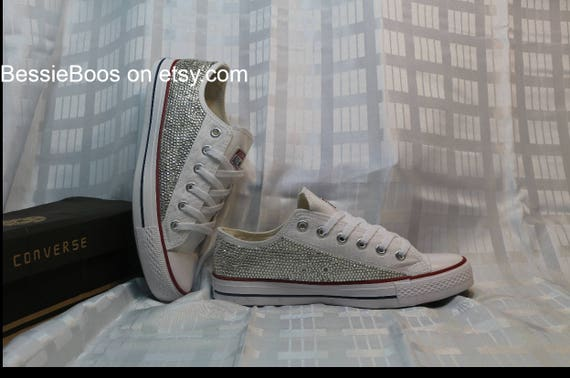 Swarovski of embellished Converse Allstars pair Brand new CtwOqqH