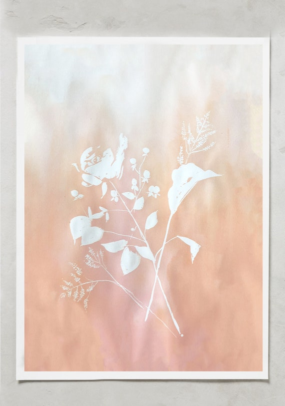 "Original painting 22""x30"", peony bouquet, original, wedding painting, watercolor coral charm, wedding bouquet art, abstract flowers, paintin"