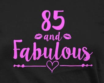 85th Birthday Shirt B Day T Grandma Gift Ideas For Women Customized TShirt Bday Present Her