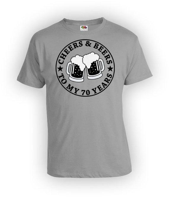 Custom Birthday Gift For Men 70th T Shirt