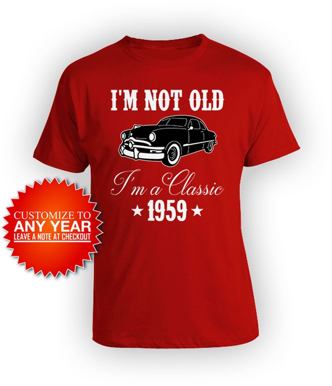 Funny Birthday Shirt 60th Bday T Custom Gift Ideas For
