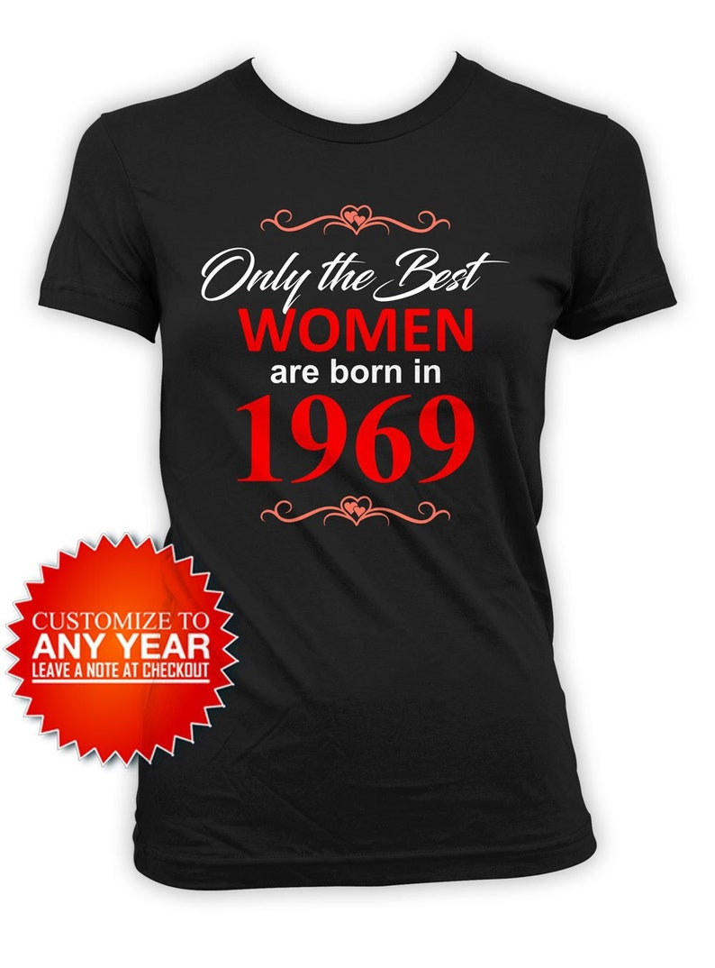 50th Birthday Gift Ideas For Her T Shirt Personalized