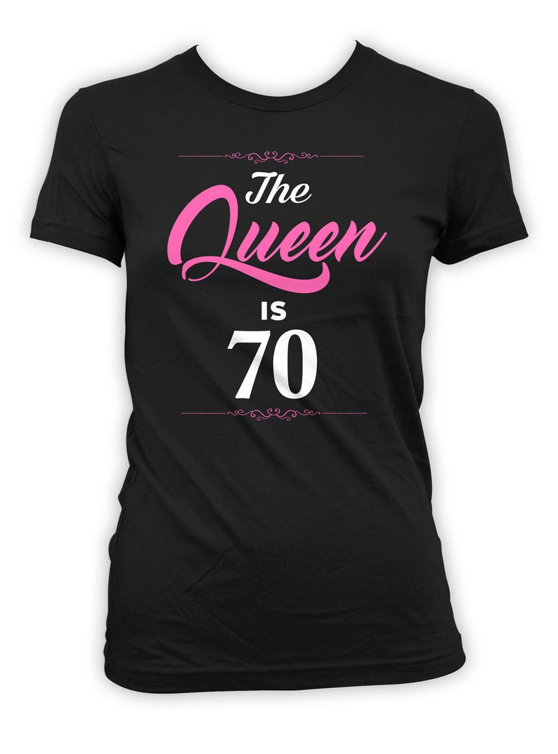 70th Birthday T Shirt Custom Gifts For Women Grandma