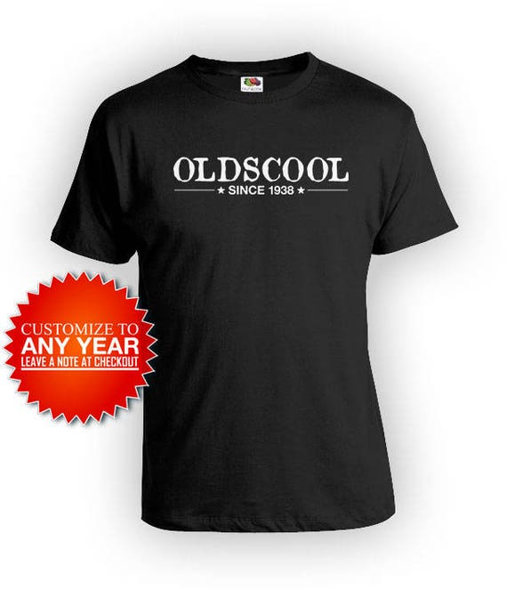 80th Birthday Gift Ideas For Men T Shirt Personalized