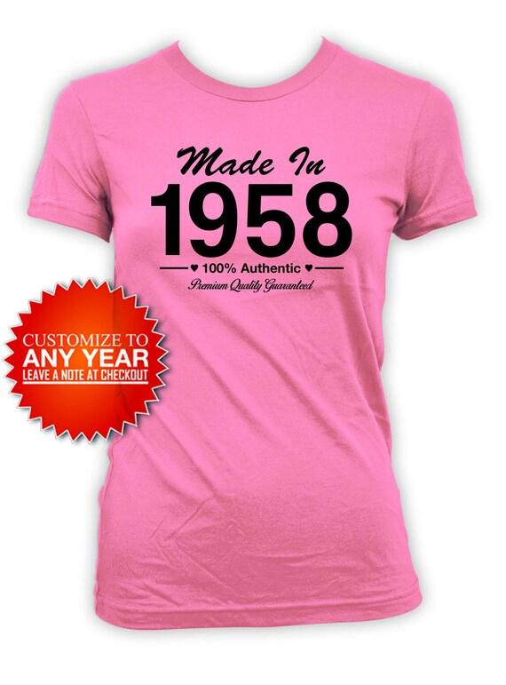 60th Birthday Shirt Bday Gift Ideas For Women Custom