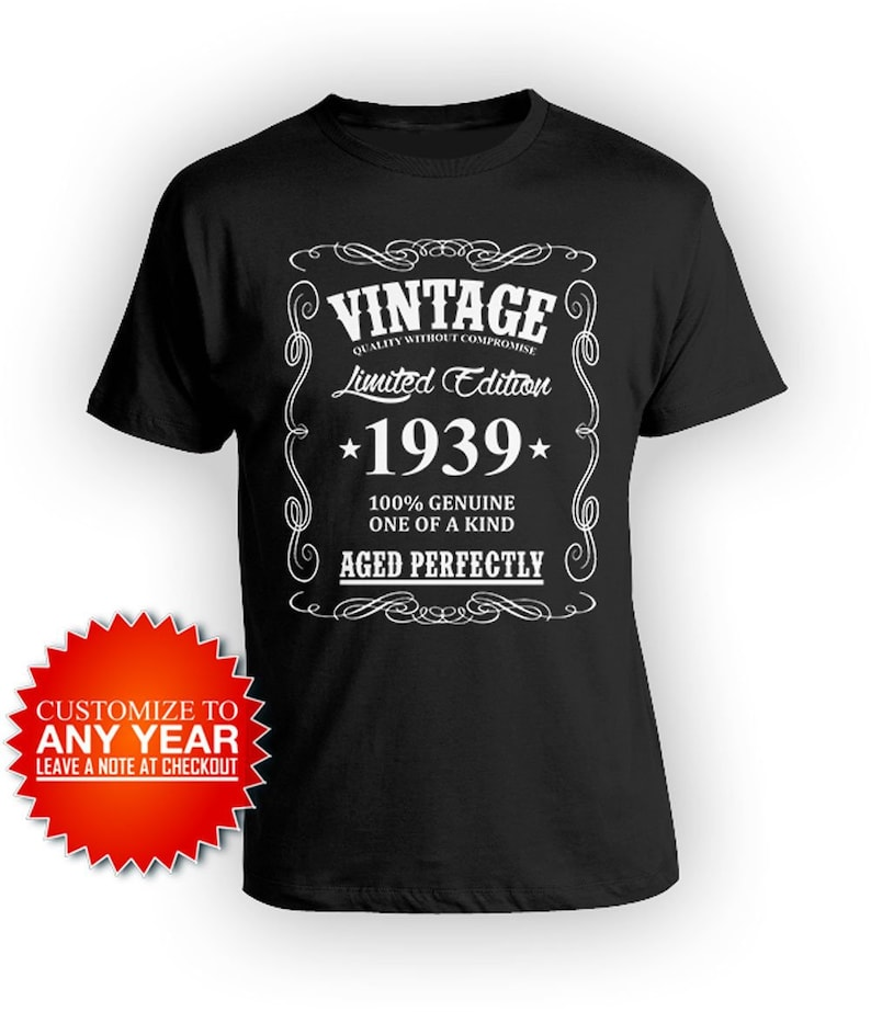 80th Birthday Gifts For Men T Shirt