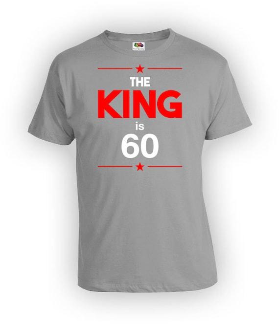60th Birthday Shirt Custom Gifts For Him Bday Present