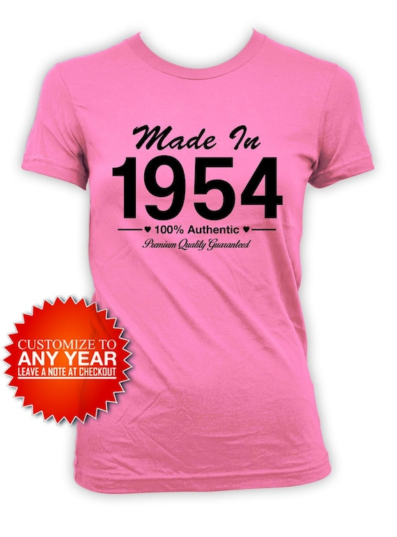 Funny Birthday Shirt Custom Gift 65th T