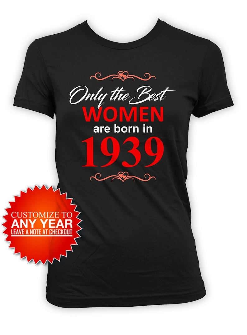 80th Birthday Shirt Gift Ideas For Her Bday Present