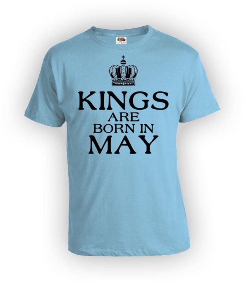 46b69812 May Birthday T Shirt Birthday Month Bday TShirt Custom Gift | Etsy