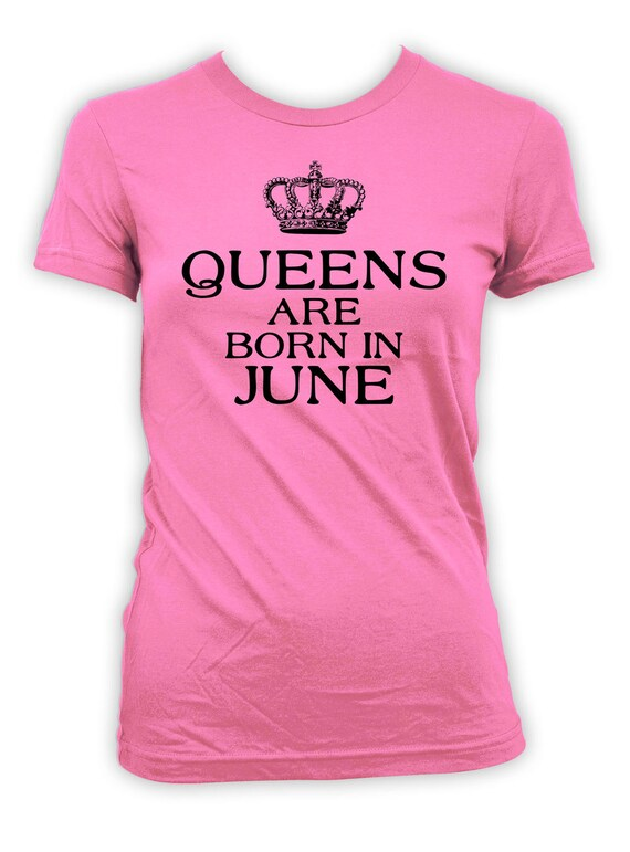 Personalized Birthday Shirt June Gifts For Mom Bday T