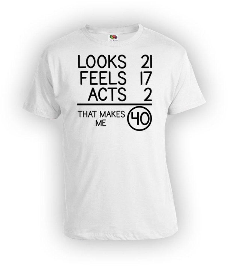 40th Birthday T Shirt Gift For Men Bday Present