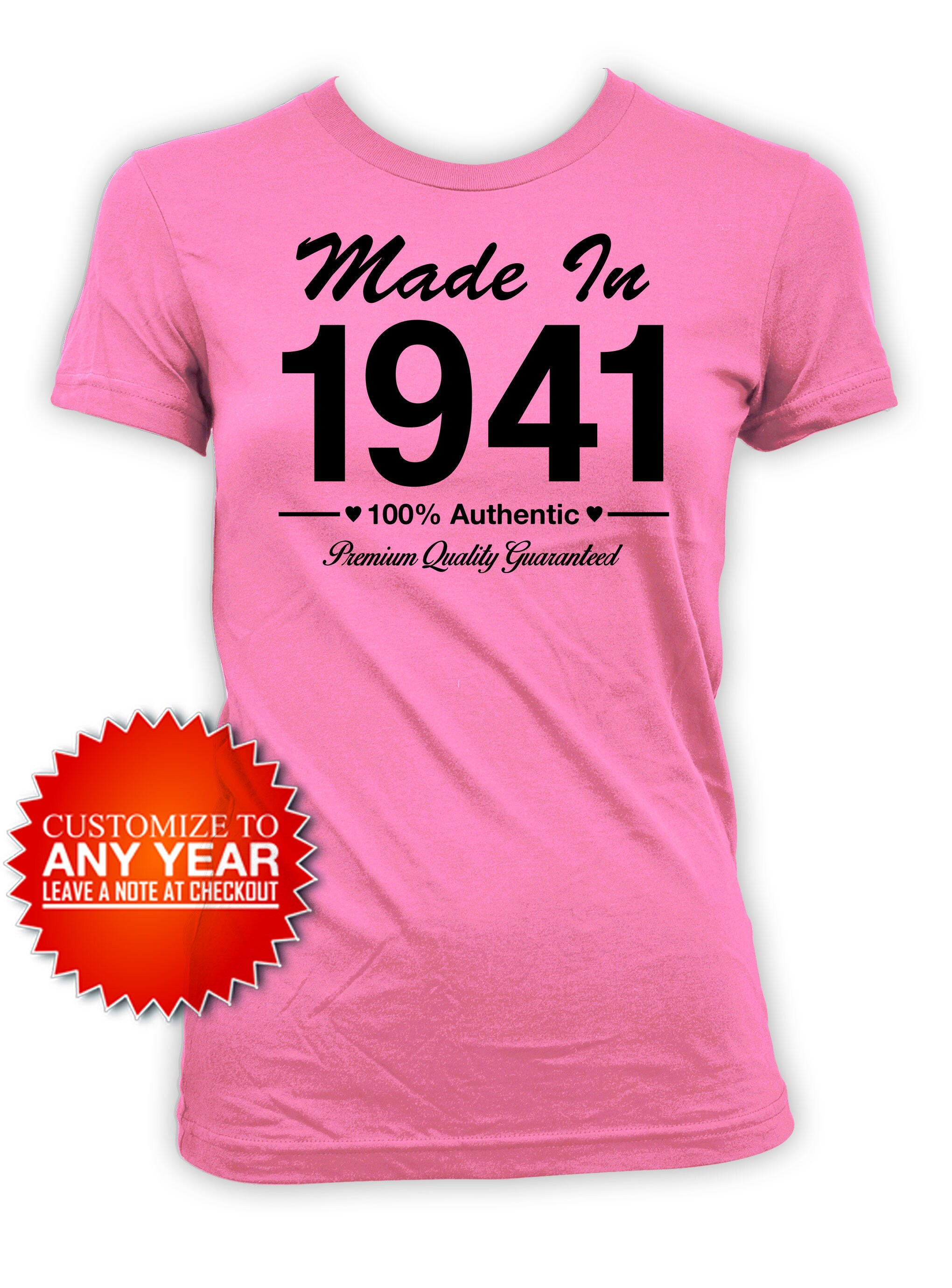 The Years Have Been Kind Women/'s 80th Birthday Present T-Shirt Gift