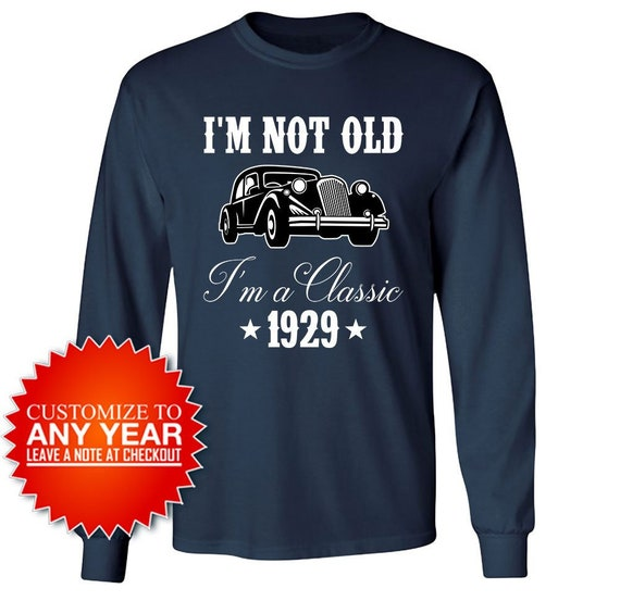 90th Birthday Gifts For Men Shirt Long Sleeve T