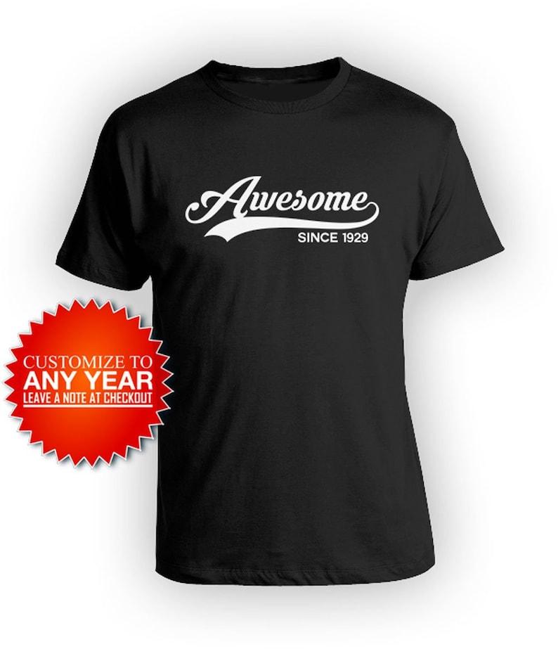 90th Birthday Gift Ideas For Men Custom Shirt Bday T