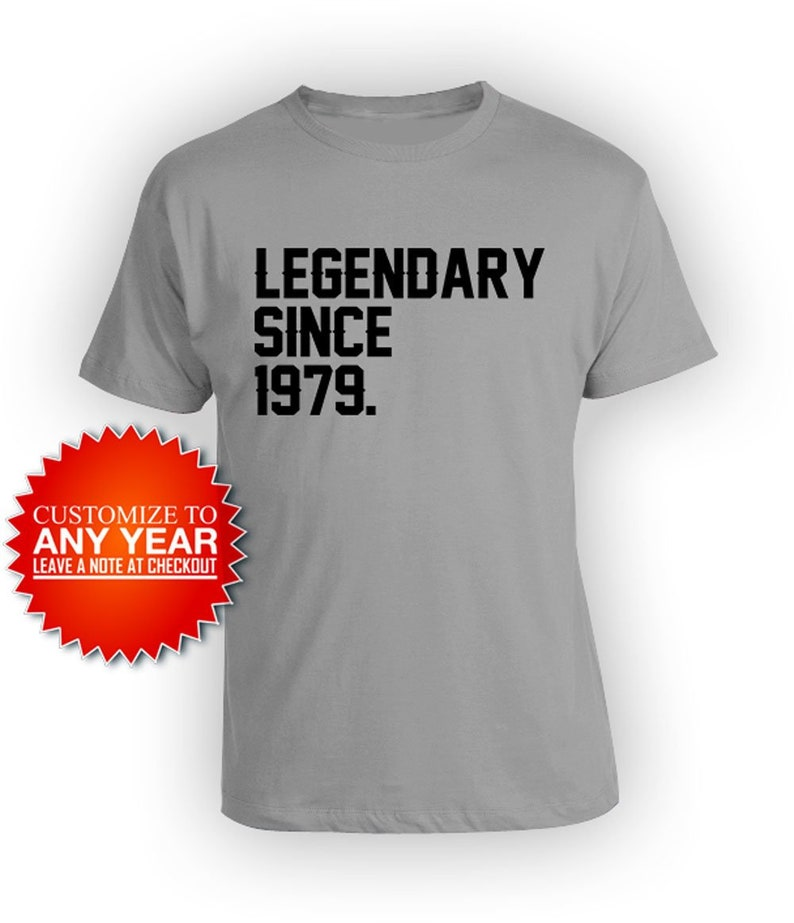Vintage Year 1979 Mens Funny 40th Birthday T-Shirt 40 Year Old Gift Present Top