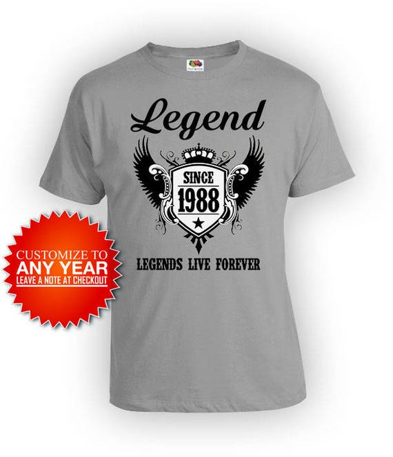 30th Birthday T Shirt Gift Ideas For Men Custom