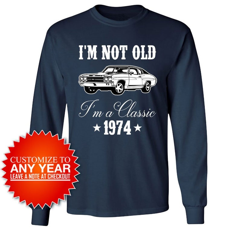 45th Birthday Shirt Bday Gift For Car Lovers T