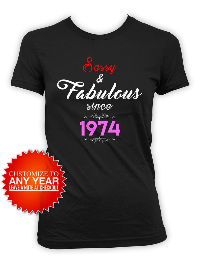 Personalized Birthday Shirt 45th Gifts For Her Bday T