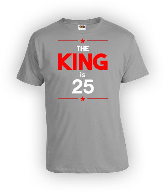 Personalized Birthday T Shirt 25th Gifts For Men