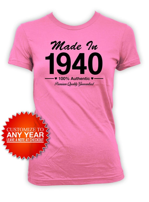 80th Birthday Shirt Bday Gift Ideas For Her Custom Birthday T Etsy