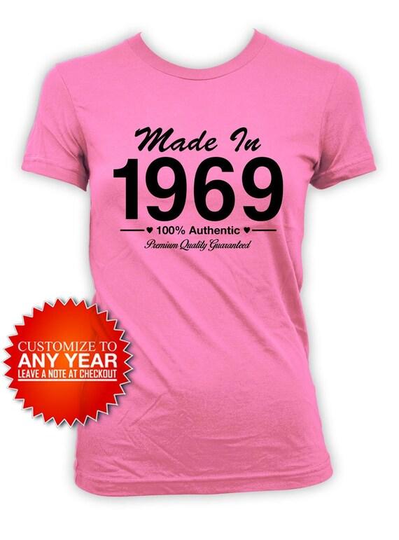 50th Birthday TShirt Bday Present For Her Custom