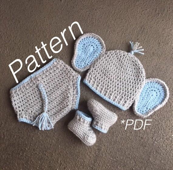 Baby Elephant Outfit Elephant Pattern Elephant Costume Etsy