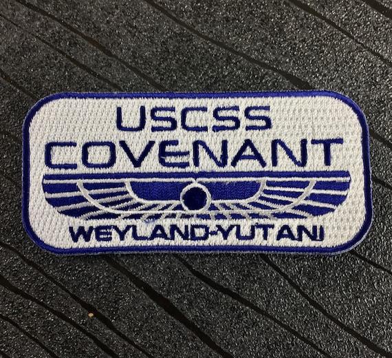 USCSS Covenant Patch hoodie Ripley Prometeo nostromo Weyland alieno ship