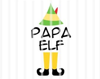 Buddy Elf Clipart Etsy