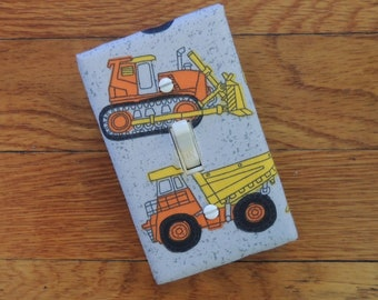Tractors Light Switch and Outlet Covers Trucks Fun /& Free Shipping!