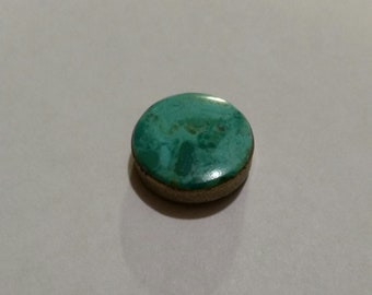 Turquoise Button Cover