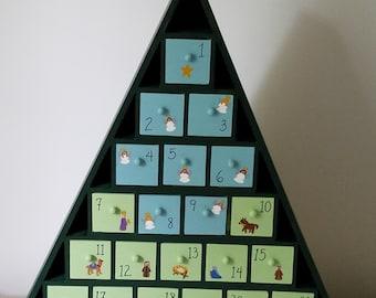 Nativity Advent Calendar Tree